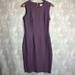 NWT Closet purple fitted dress